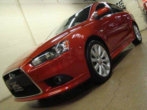 2009 Mitsubishi Lancer for sale at Luxury Auto Finder in Batavia IL