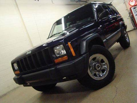 1998 Jeep Cherokee for sale at Luxury Auto Finder in Batavia IL