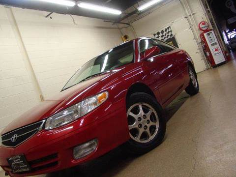 2000 Toyota Camry Solara for sale at Luxury Auto Finder in Batavia IL
