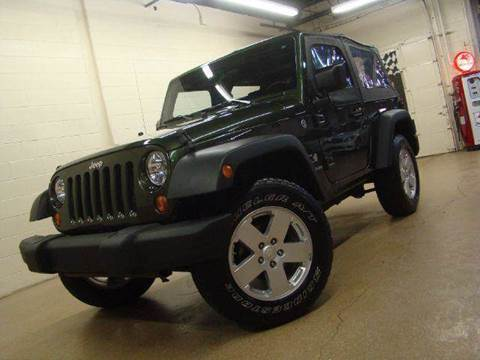 2007 Jeep Wrangler for sale at Luxury Auto Finder in Batavia IL