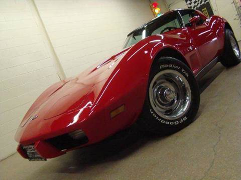 1979 Chevrolet Corvette for sale at Luxury Auto Finder in Batavia IL