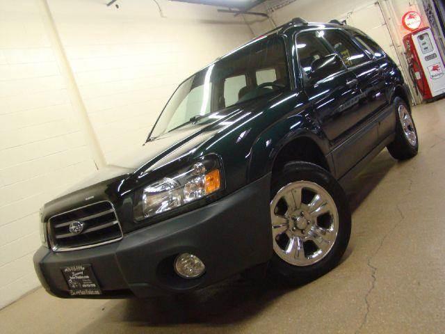 2003 Subaru Forester for sale at Luxury Auto Finder in Batavia IL
