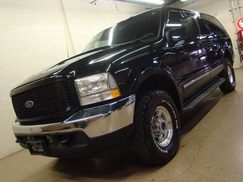 2002 Ford Excursion for sale at Luxury Auto Finder in Batavia IL
