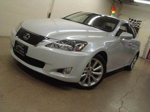2009 Lexus IS 250 for sale at Luxury Auto Finder in Batavia IL
