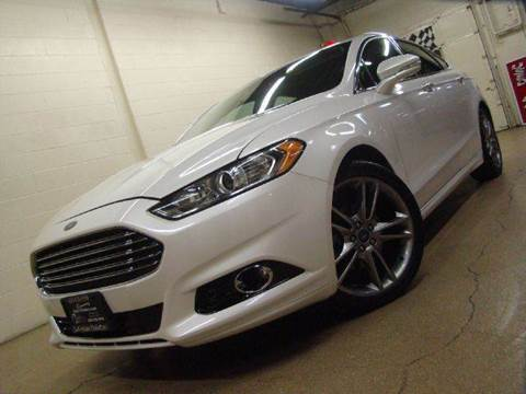 2013 Ford Fusion for sale at Luxury Auto Finder in Batavia IL