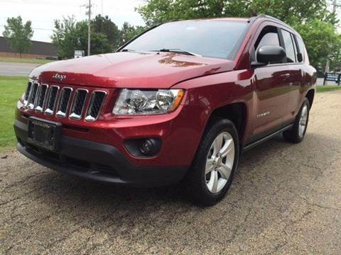 2012 Jeep Compass for sale at Luxury Auto Finder in Batavia IL