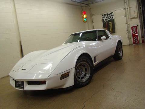 1981 Chevrolet Corvette for sale at Luxury Auto Finder in Batavia IL