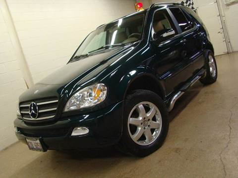 2002 Mercedes-Benz M-Class for sale at Luxury Auto Finder in Batavia IL