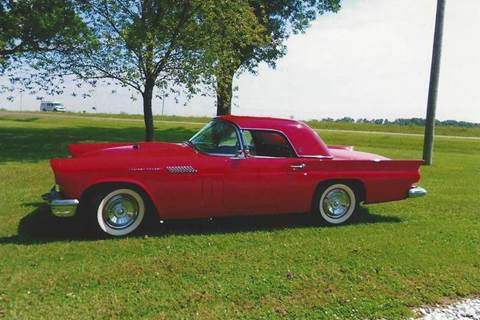 1957 Ford Thunderbird for sale at Luxury Auto Finder in Batavia IL