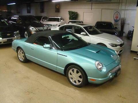 2002 Ford Thunderbird for sale at Luxury Auto Finder in Batavia IL