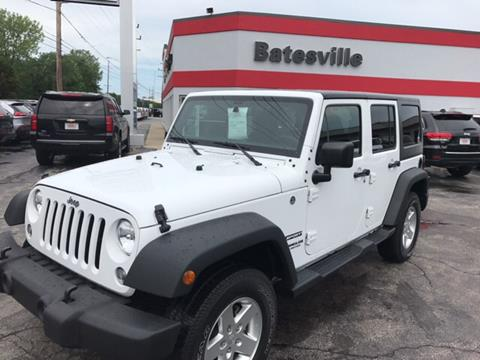 2016 Jeep Wrangler Unlimited for sale in Batesville IN