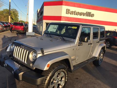 2017 Jeep Wrangler Unlimited for sale in Batesville IN