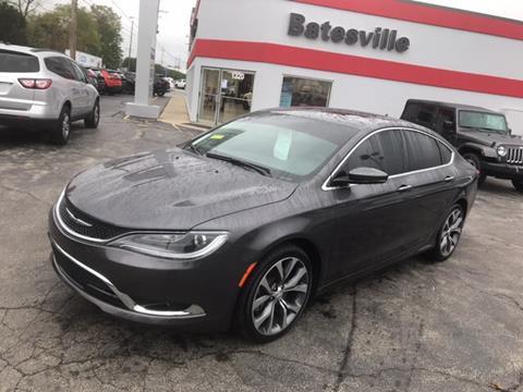 2016 Chrysler 200 for sale in Batesville, IN