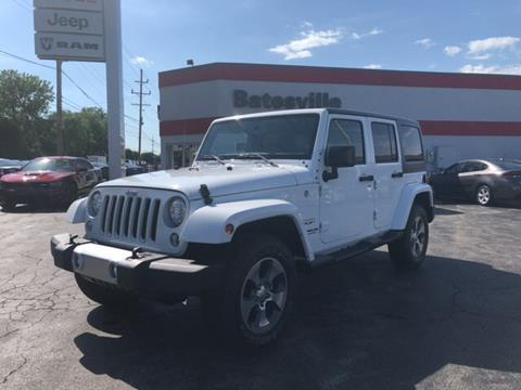 2017 Jeep Wrangler Unlimited for sale in Batesville, IN