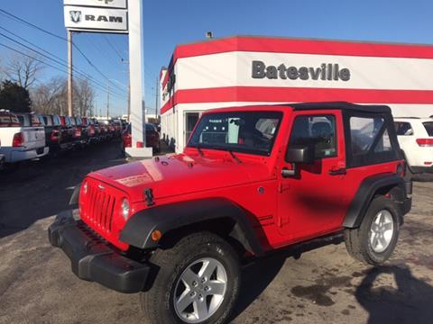 2017 Jeep Wrangler for sale in Batesville, IN