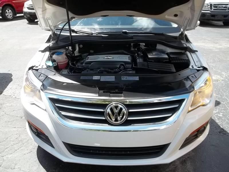2012 Volkswagen Cc Lux 4dr Sedan In Clearwater FL  PJs Auto