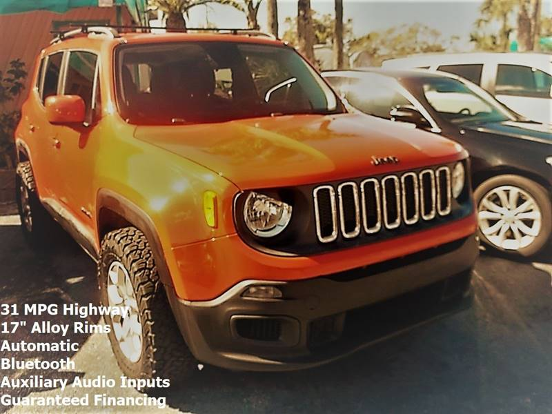 Jeep Renegade 2015 Latitude 4dr SUV