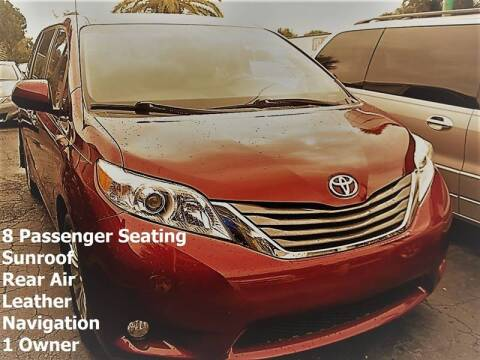 2012 Toyota Sienna for sale at PJ's Auto World Inc in Clearwater FL