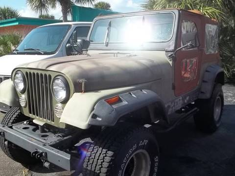 1984 Jeep CJ-7 for sale in Clearwater, FL