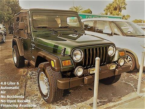 2001 Jeep Wrangler for sale in Clearwater, FL