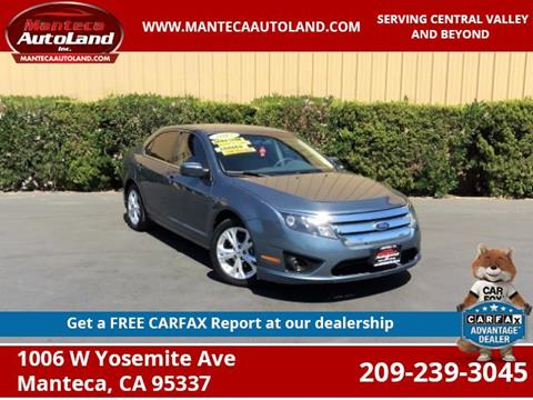 2012 Ford Fusion for sale in Manteca, CA