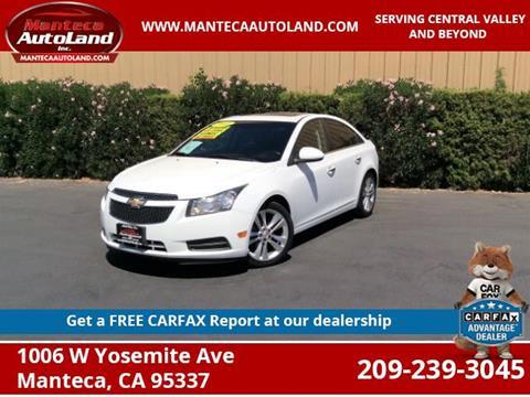 2011 Chevrolet Cruze for sale in Manteca, CA
