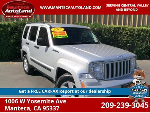 2012 Jeep Liberty for sale in Manteca, CA