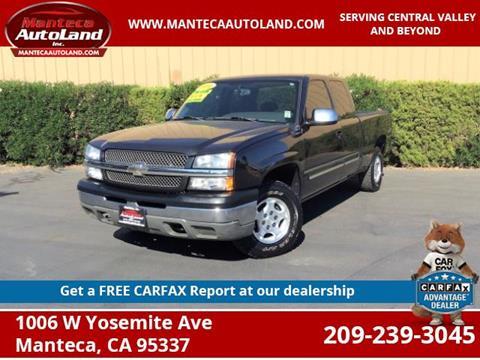 2004 Chevrolet Silverado 1500 for sale in Manteca, CA