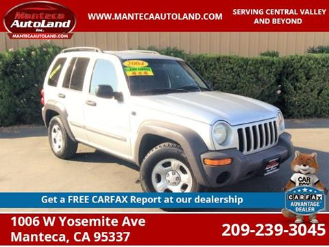 2004 Jeep Liberty for sale in Manteca, CA