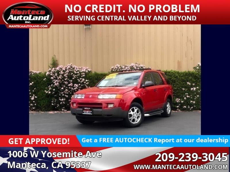 2002 Saturn Vue Awd 4dr Suv V6 In Manteca Ca Manteca Auto Land