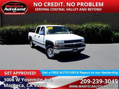 2002 Chevrolet Silverado 1500HD for sale in Manteca, CA