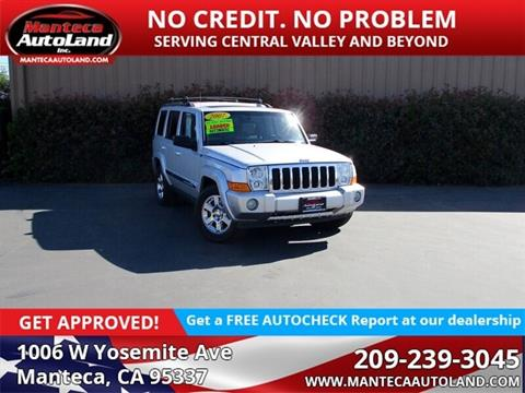 2007 Jeep Commander for sale in Manteca, CA