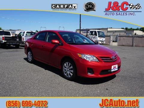 2013 Toyota Corolla for sale in Vineland, NJ