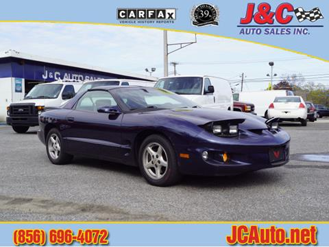 2001 Pontiac Firebird for sale in Vineland, NJ