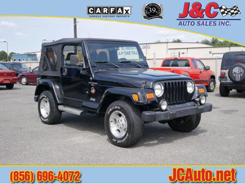 2001 Jeep Wrangler for sale in Vineland, NJ