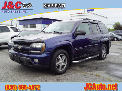2004 Chevrolet TrailBlazer LT for sale at J & C Auto Sales in Vineland NJ
