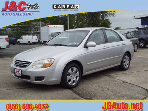 2008 Kia Spectra EX for sale at J & C Auto Sales in Vineland NJ