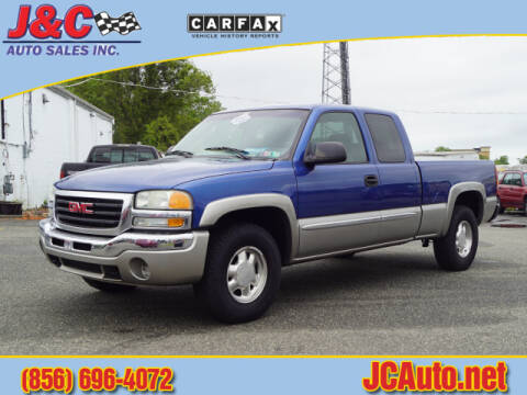 2003 GMC Sierra 1500 for sale at J & C Auto Sales in Vineland NJ