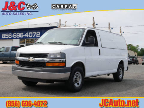 2013 Chevrolet Express Cargo 2500 for sale at J & C Auto Sales in Vineland NJ