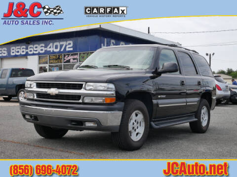 2003 Chevrolet Tahoe LT for sale at J & C Auto Sales in Vineland NJ