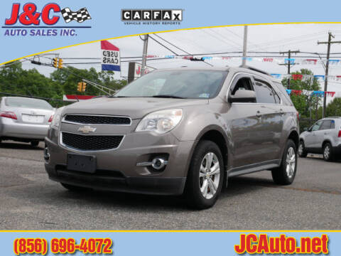2010 Chevrolet Equinox LT for sale at J & C Auto Sales in Vineland NJ