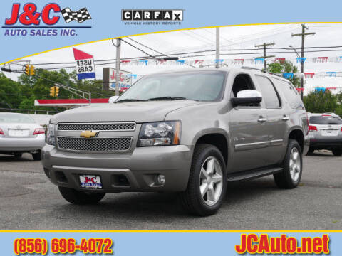 2008 Chevrolet Tahoe LTZ for sale at J & C Auto Sales in Vineland NJ