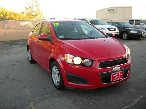2012 Chevrolet Sonic for sale in Sanford, ME