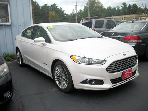 2014 Ford Fusion Hybrid for sale in Sanford, ME