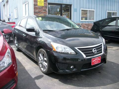 2013 Nissan Sentra S for sale at Lloyds Auto Sales & SVC in Sanford ME