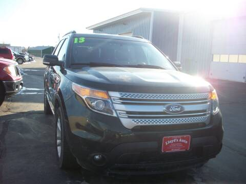 2013 Ford Explorer XLT for sale at Lloyds Auto Sales & SVC in Sanford ME