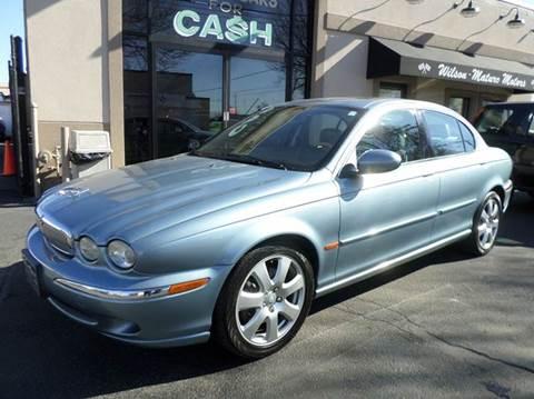 2004 Jaguar X-Type for sale at Wilson-Maturo Motors in New Haven Ct CT