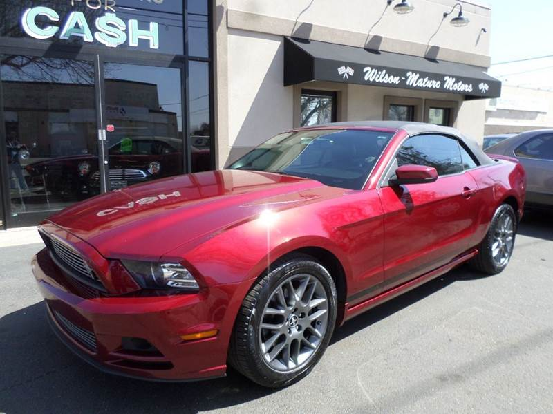 2014 Ford Mustang for sale at Wilson-Maturo Motors in New Haven CT
