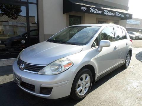 2007 Nissan Versa for sale at Wilson-Maturo Motors in New Haven Ct CT