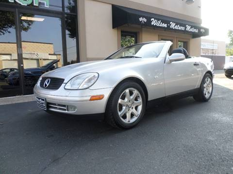 1998 Mercedes-Benz SLK for sale at Wilson-Maturo Motors in New Haven Ct CT
